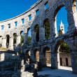 Stock Photo: Ancient RomAmphitheater in Pula, Istria, Croatia