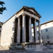 Ancient Roman Temple of Augustus in Pula, Istria, Croatia - ストック写真