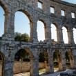Ancient RomAmphitheater in Pula, Istria, Croatia — Stock Photo #12320941