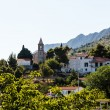 Small Church and the Bell Tower on the Hill near Split, Croatia — Stock Photo