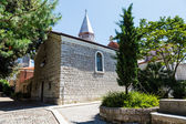 Small Church in the Resort of Opatija, Kvarner, Croatia — Stok fotoğraf
