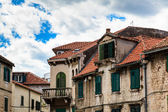 Traditional Houses with Red Tiled Roofs in Split, Croatia — Stock Photo