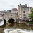 Stock Photo: Pulteney Bridge, Bath, Somerset, England, UK