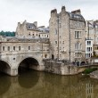 Pulteney Bridge, Bath, Somerset, England, UK - Stock Photo