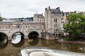 Pulteney Bridge, Bath, Somerset, England, UK — Stock Photo