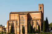 Church of San Domenico in Siena, Tuscany, Italy — Stock fotografie