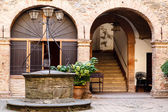 The Old Water Well in Montalcino, Tuscany, Italy — Stock Photo