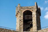 Torre defensiva en el castillo de montalcino, toscana — Foto de Stock