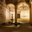 Stock Photo: Rich Interior of Palazzo Vecchio (Old Palace) Massive Romanesq