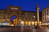 The Column of Abundance in the Piazza della Repubblica in the Mo — Stock Photo