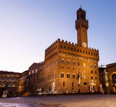 The Palazzo Vecchio (Old Palace) a Massive Romanesque Fortress P — Stock Photo