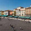 Foto Stock: PiazzBrin VeronViewed from Ancient RomAmphitheater, Ven