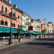 Stock Photo: Restaurants and Cafes on PiazzBrin Verona, Veneto, Italy