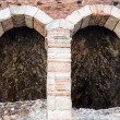 Ancient RomAmphitheater on PiazzBrin Verona, Veneto, Ital — Stock Photo #14006894