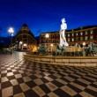 Fontaine du Soleil on Place Massenin Morning, Nice, Fr — Stock Photo #15701273