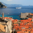 Panorama of Dubrovnik from the City Walls, Croatia — Stock Photo #15702315