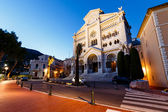 Facade of Saint Nicholas Cathedral in Monaco, Monte Carlo, Franc — Stock Photo