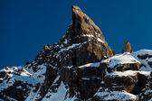 Porta Vescovo Peak on the Ski Resort of Arabba, Dolomites Alps, — Stock Photo