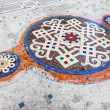Mosaic Floor of Interior of Galleria Vittorio Emanuele II Shopin — Stock Photo #20341835