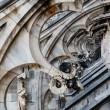 Roof of the Famous Milan Cathedral, Lombardy, Italy — Foto Stock