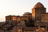 Evening in the Small Town of Volterra in Tuscany, Italy — Stock Photo