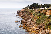 Rocky Beach Boca de Inferno (Mouth of Hell) in Cascais near Lisb — Foto Stock