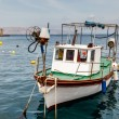 Fisherman Boat Docked at Harbor in Senj, Croatia — Stock Photo