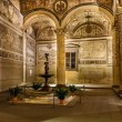 Rich Interior of Palazzo Vecchio (Old Palace) a Massive Romanesq — Stock Photo #23820611