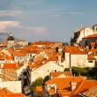 View of Dubrovnik Rooftops from the City Walls, Croatia — Stock Photo #24211383