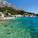 Beautiful Beach and Transparent Turquoise Adriatic Sea near Spli — Stock Photo #24211575