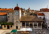 Church of Saint Sebastian in the Center of Trogir, Croatia — Foto de Stock