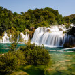 Stock Photo: National Park Krkand Cascade of Waterfalls on River Krka, Croa