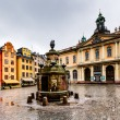 Stortorget in Old City (Gamla Stan), the Oldest Square in Stockh — Stock Photo #24872207