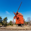 Traditional Swedish Windmill in Skansen National Park, Stockholm — Stock Photo