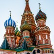 Cathedral of Vasily the Blessed on the Red Square in Moscow, Rus — Stock Photo