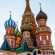 Cathedral of Vasily the Blessed on the Red Square in Moscow, Rus — Stock Photo #24943883
