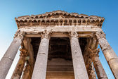 Ancient Roman Temple of Augustus in Pula, Istria, Croatia — Stock Photo