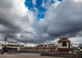 Dramatic Cloudscape over Center of Moscow, Russia — Foto de Stock