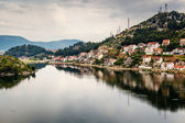 City of Ploce near Dubrovnik, Dalmatia, Croatia — Stock Photo