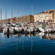 MARSEILLE, FRANCE - January 11: Boats on January 11, 2012 in the — Stock Photo
