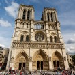 Notre Dame de Paris Cathedral on Cite Island, France — Stock Photo #28162151