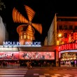 Stock Photo: Cabaret Moulin Rouge at Night, Paris, France