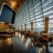 Kloten Airport Interior in Zurich, Switzerland — Stock Photo