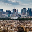 Aerial View on La Defense and its Scyscrapers in Paris, France — Stock Photo #28804879