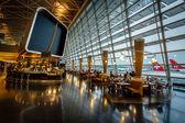 Kloten Airport Interior in Zurich, Switzerland — Stock Photo
