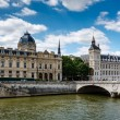 La Conciergerie, a Former Royal Palace and Prison in Paris, Fran — Stock Photo