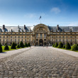Les Invalides War History Museum in Paris, France — Stock Photo