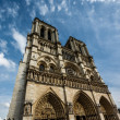 Stock Photo: Notre Dame de Paris Cathedral on Cite Island, France