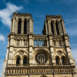 Notre Dame de Paris Cathedral on Cite Island, France — Stock Photo