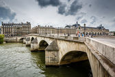 Pont Neuf and Cite Island in Paris, France — Stock Photo